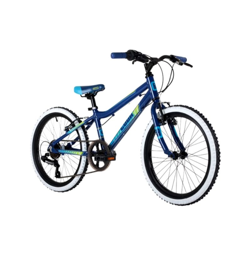 "Barracuda Cuda Mayhem 6 Speed Boys Alloy Mountain Bike 20"" Wheel in Dark Blue/Gr"