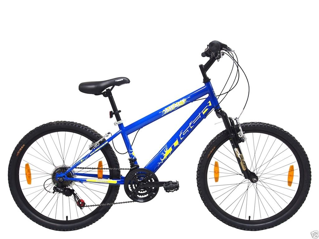 fa545007519 Tiger Impact Front Suspension Mountain Bike 24″ Wheel, Blue. 🔍. 0 ...