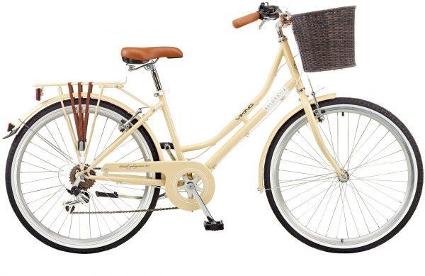 "Viking Belgravia Ladies Traditional Heritage 18"" Frame 26"" Wheel 6 Speed Bike Latte"