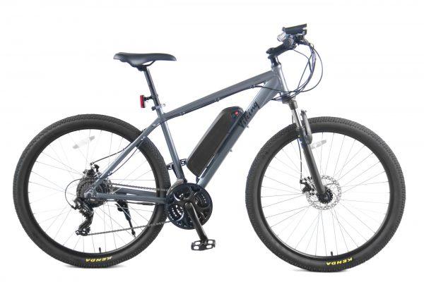 "Viking Advance 18"" Gents eBike 36Volt 250w 7 Speed Electric Mountain Bike Grey"