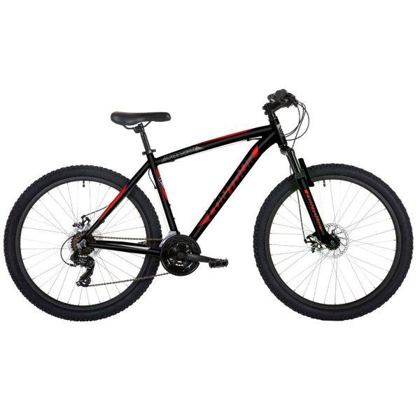 "Freespirit Contour 27.5"" Wheel Mens MTB Style Bike Black/Red"