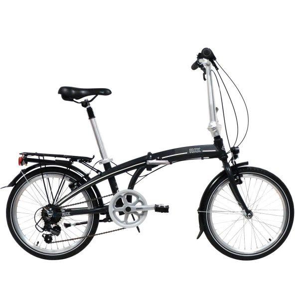 "Freespirit Ruck 20"" Wheel Folding Bike Black"